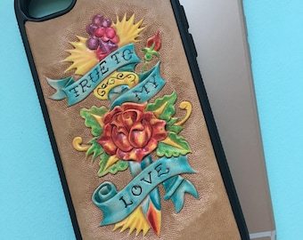 Case for iPhone 7 / 8  Leather