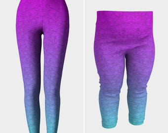 Ombre Lace Mommy and Baby Leggings