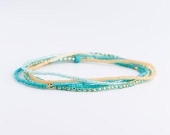Bracelet, wrap bracelet