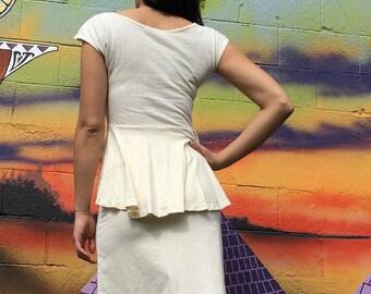 Bustle Tee // Hemp & Organic Cotton // Elegant Styling // Eco Fashion //