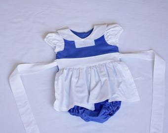 Belle costume - Belle Romper - Beauty and the Beast Romper - Belle- Provincial Belle - Blue Belle