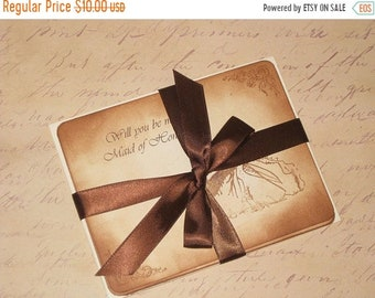 Wedding Sale Sample for millermeagan1005's Save the Date Vintage Style Carte Postal Save the Date Wedding