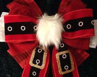 Mz. Clauz Wreath Fresh Maine Balsam Fir Christmas Wreath ~ Just a Bow or Decorated