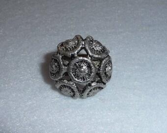 Ring. Tapani Vanhatalo (Finland). Pewter. Vintage.