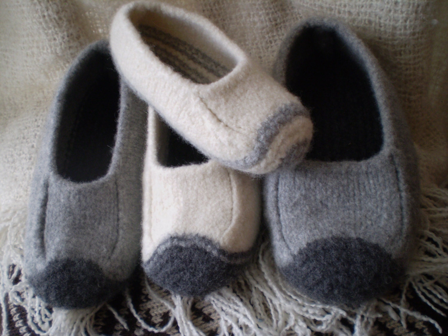 Duffers Revisited A felted slipper knitting pattern in