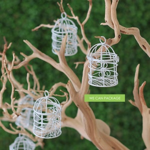 Mini birdcage centerpieces - photo#51