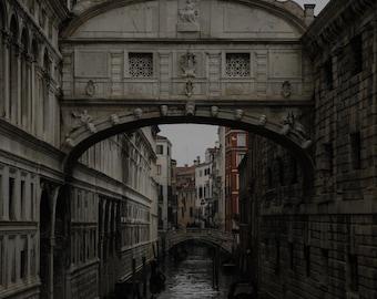Venice Print, Bridge of Sighs Print, Italy Print, Travel Print, Photography Print, Venice Italy, Bridge of Sighs, Art, Travel Photography