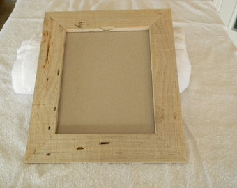 8  x 10 Blue Pine Picture Frame