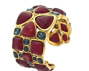 Chanel Cuff - Verdura Maltese Cross -  Design Collection 26 -  Circa 1989
