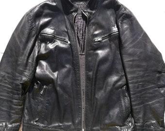 Real Vintage leather Biker jacket