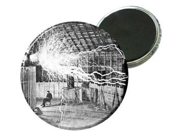 """Magnet - Nikola Tesla 2.25"""" Image"""