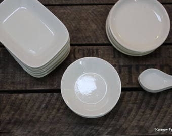 Collection Small White Dishes