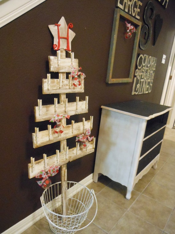 Christmas tree gift card holder ideas