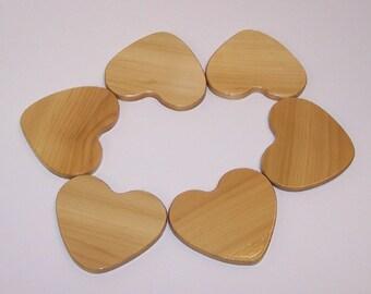 HEART Coaster Set (set of 6)