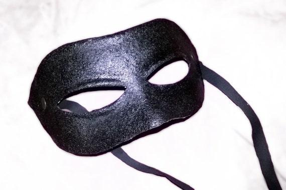japanese samurai leather mask black dark costume cosplay larp renaissance burning man warrior halloween mardi gras fantasy ogre rrw4k