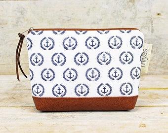 "Bag-Cosmetic bag anchor ""Sylt"""