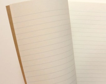 Traveler's Notebook, Passport Size, LINED, Ivory