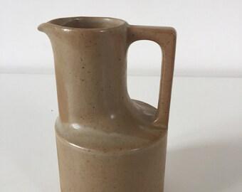 Modern stoneware pitcher