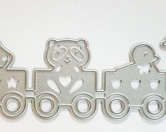 Carbon Steel Cutting Dies Baby Train