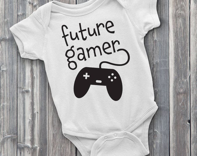 Future Gamer 100% Soft Cotton Gaming ONESIE