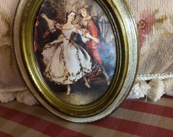 Florentine Country Victorian Dance Picture Frame