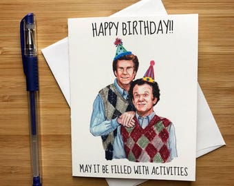 Mens Birthday Cards For Facebook ~ Greeting cards etsy