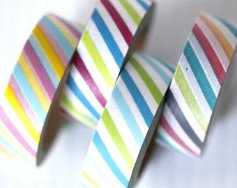 Rainbow Stripe Washi Tape 15mm
