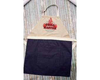Father's Day Gift, Grilling Apron, Kitchen Apron, Mens Personalized Apron, Guys Gift