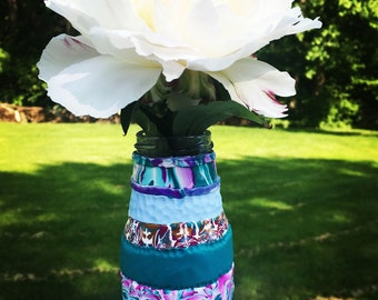 Polymer Clay Decorated Vase