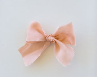 Headbands and Bows- Whimsical Collection | Antique Peach