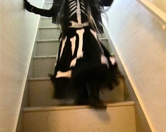 Día de los Muertos Skeleton costume dress