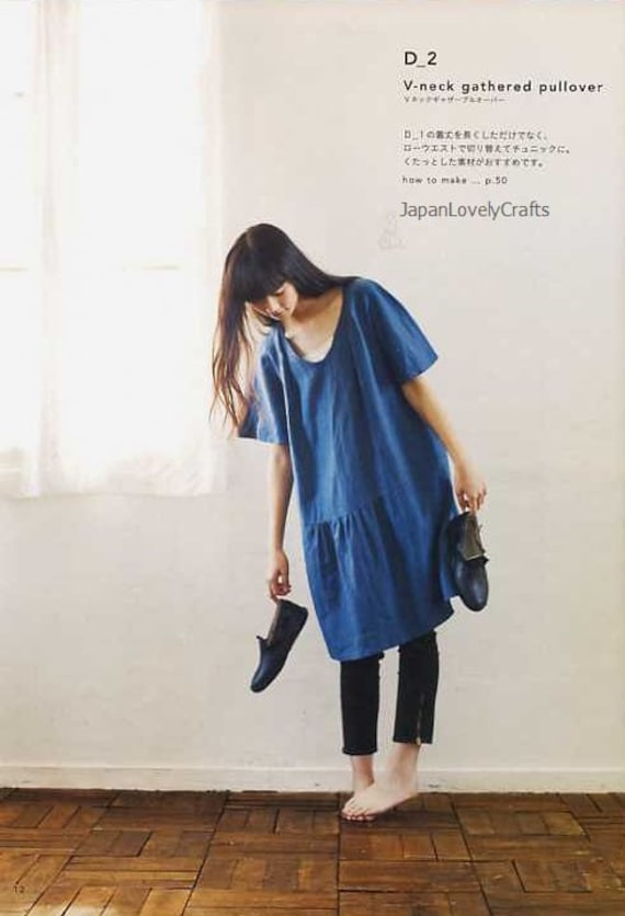 Simple Chic Tomomi Okawa Japanese Sewing Pattern Book for