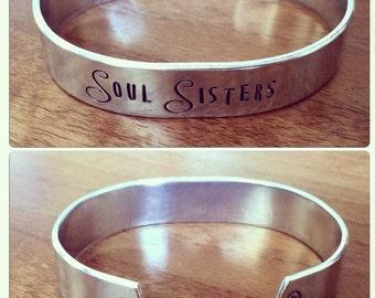Soul Sisters... cuff bracelet...