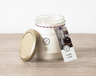 Creole Vanilla scented candle