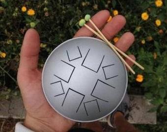 Micro-nano Steel Tongue Drum - Tank Drum - Slit Drum - Hank Drum - Happy Drum