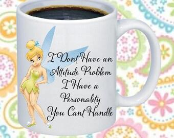 Tinkerbell Attitude Coffee Mug
