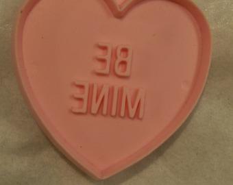 Conversation Heart,  Cookie Cutter, Valentines Day,  BE MINE, Heart Shaped, Cookie Cutter,  Hallmark