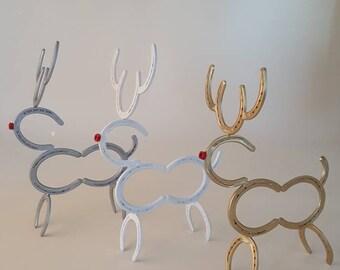 Horseshoe reindeer FREE SHIPPING!