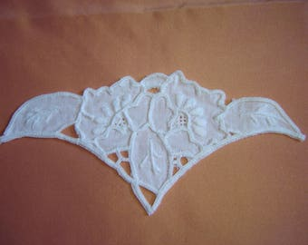 COTTON APPLIQUE EMBROIDERED