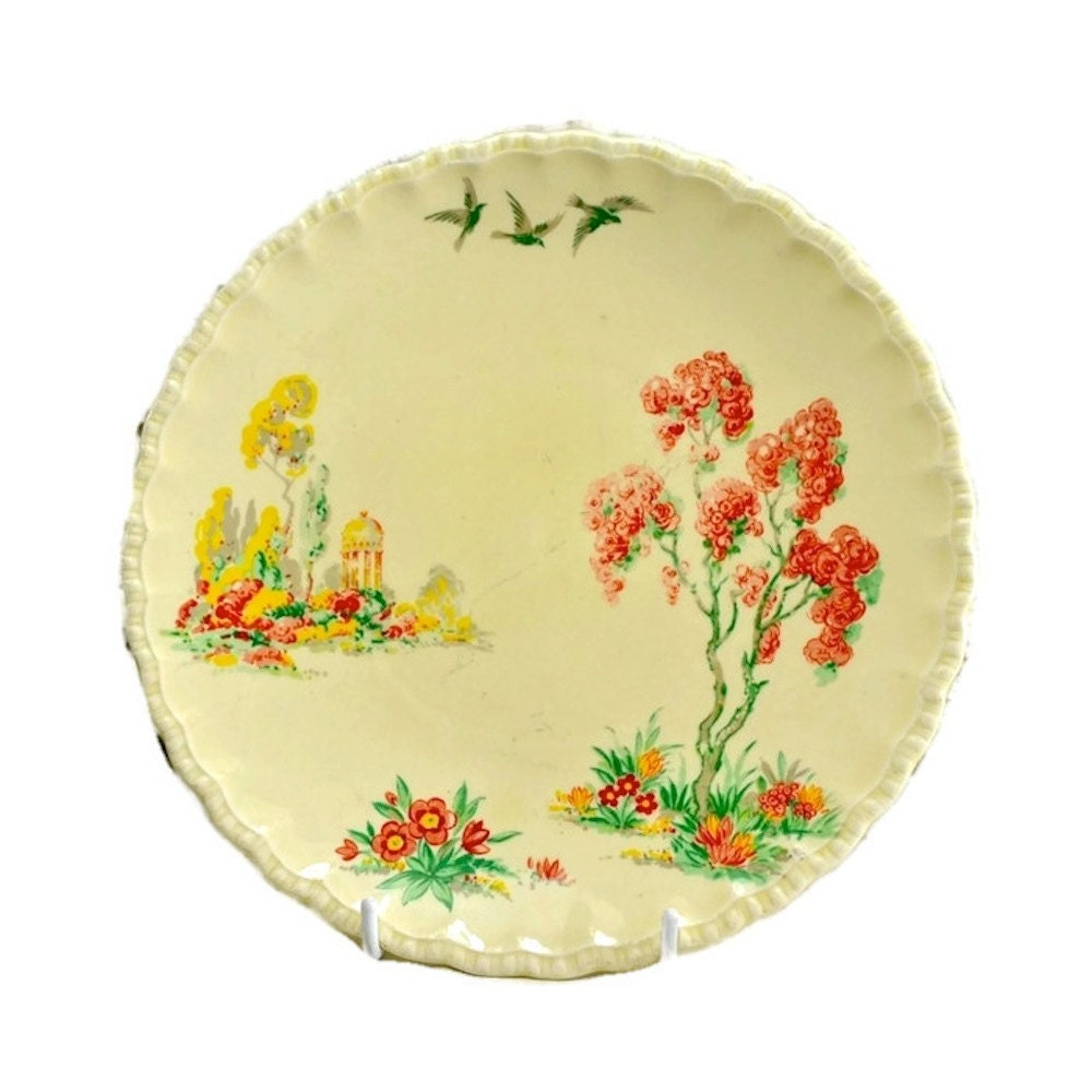 Grindley England Decorative Plate Antique Wall Plate of Hand
