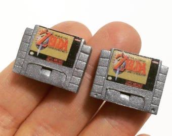Super Nintendo Cuff Links - Video Game Cuff Links - Video Game Jewelry - Polymer clay - Groomsmen Gift - Wedding accessories