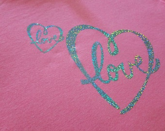 Love/heart  tshirt