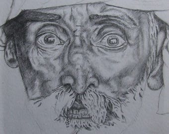 Small Sketch Of A Man