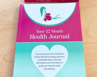 Your 12 Month Health Journal