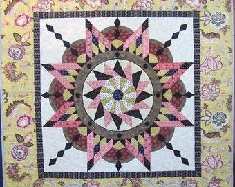 Jacobean Star quilt pattern