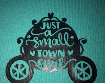 Small town girl