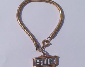 """Vintage 1940's """"SUE"""" Child Bracelet, Sue Bracelet, 5 1/4"""" Length"""