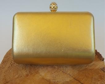 Vintage Gold Clutch Evening Bag