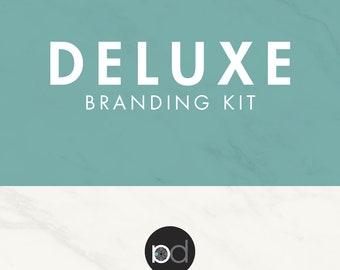 Branding Kit - Business Logo - Logo Design - Blog Logo - Business Card - Photography Logo - Feminine Logo - Branding Package - Watermark