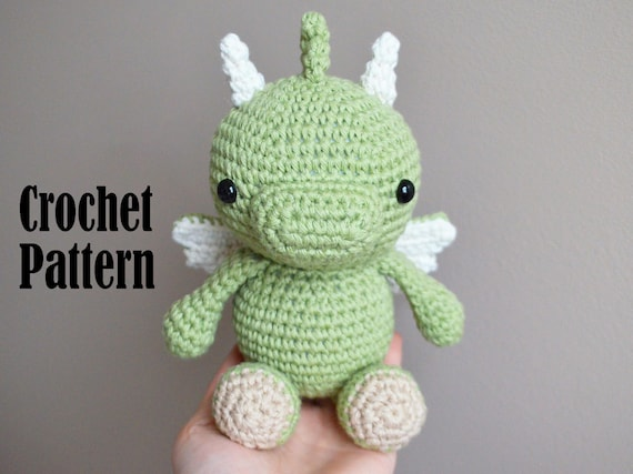 Amigurumi Baby Dragon : Crochet amigurumi pattern phoenix the baby dragon crochet